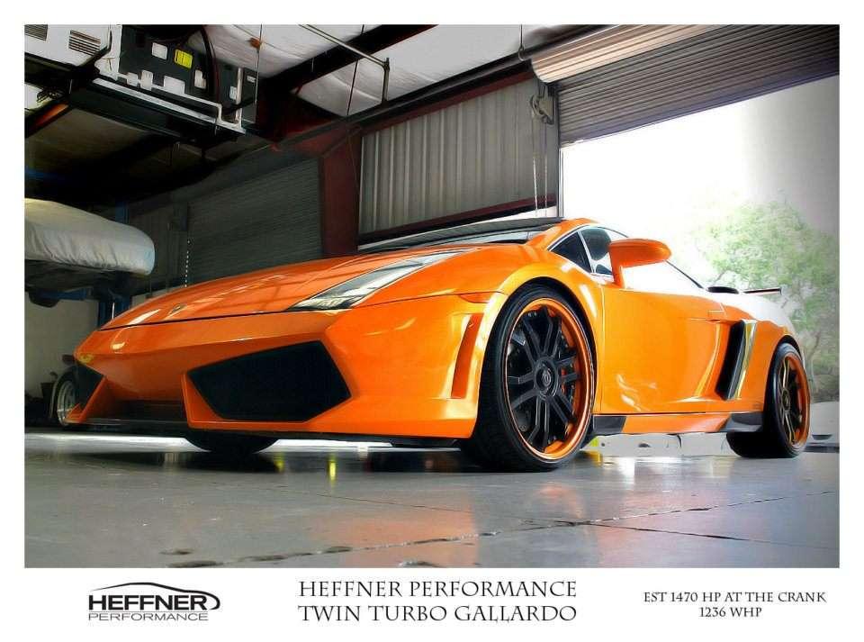 Lamborghini Gallardo Twin Turbo od Heffner Performace