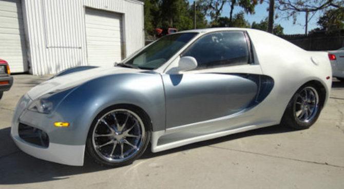 Honda Civic jako Bugatti