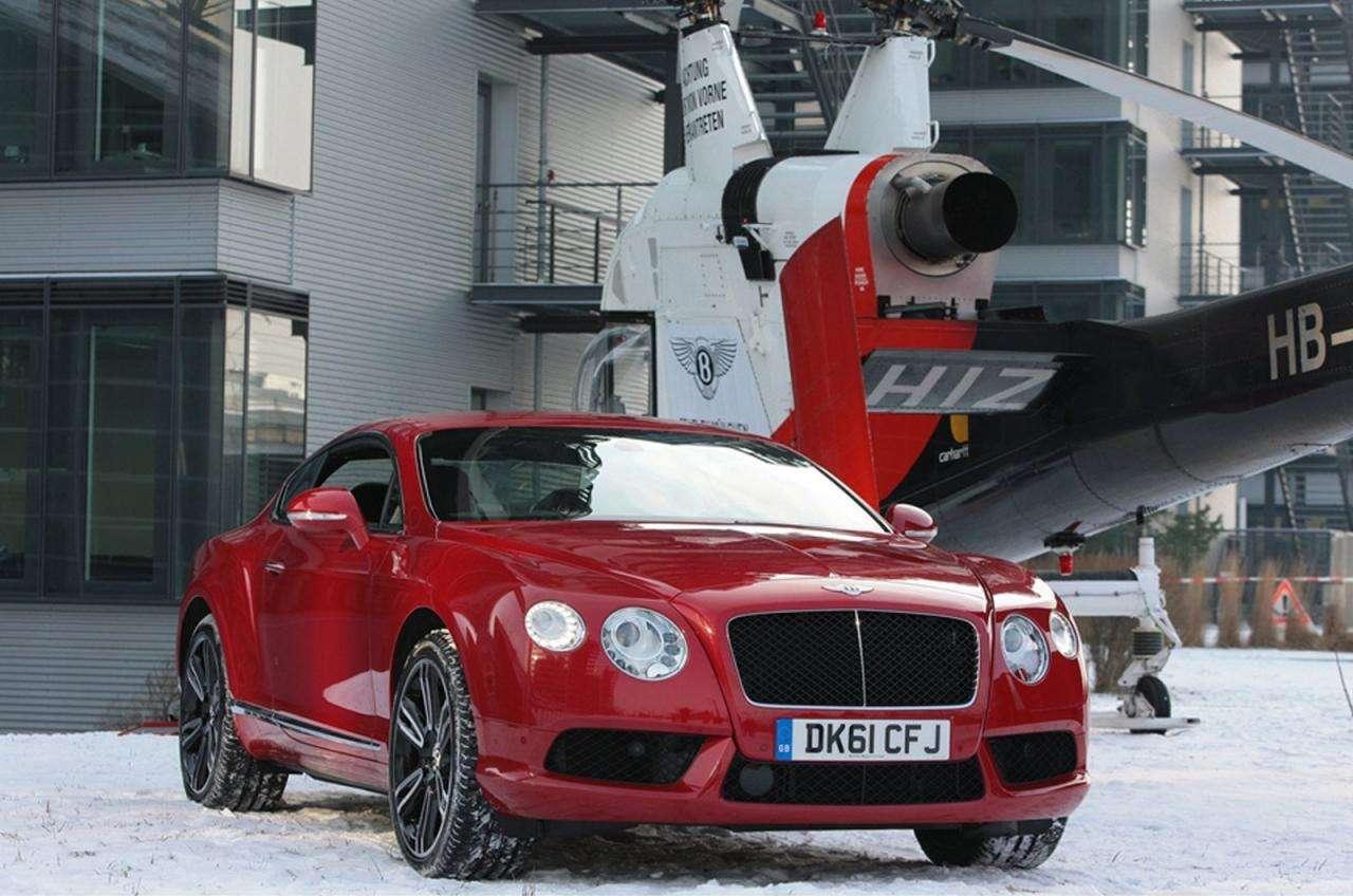 Bentley Continental GT latajacy luty 2012