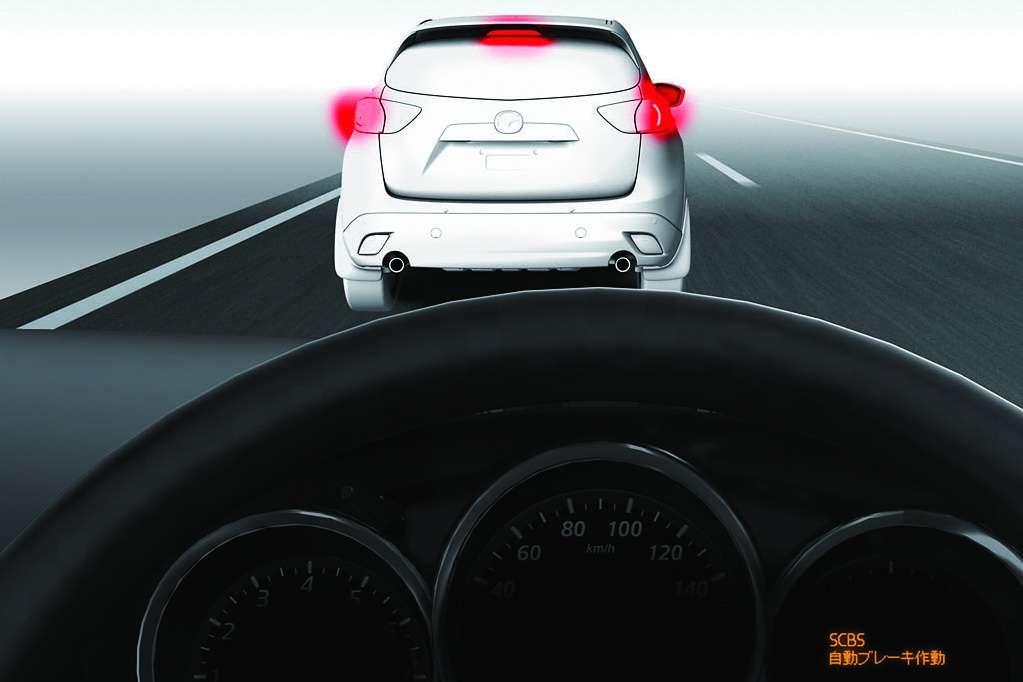 Mazda CX-5 System Smart City Brake luty 2012