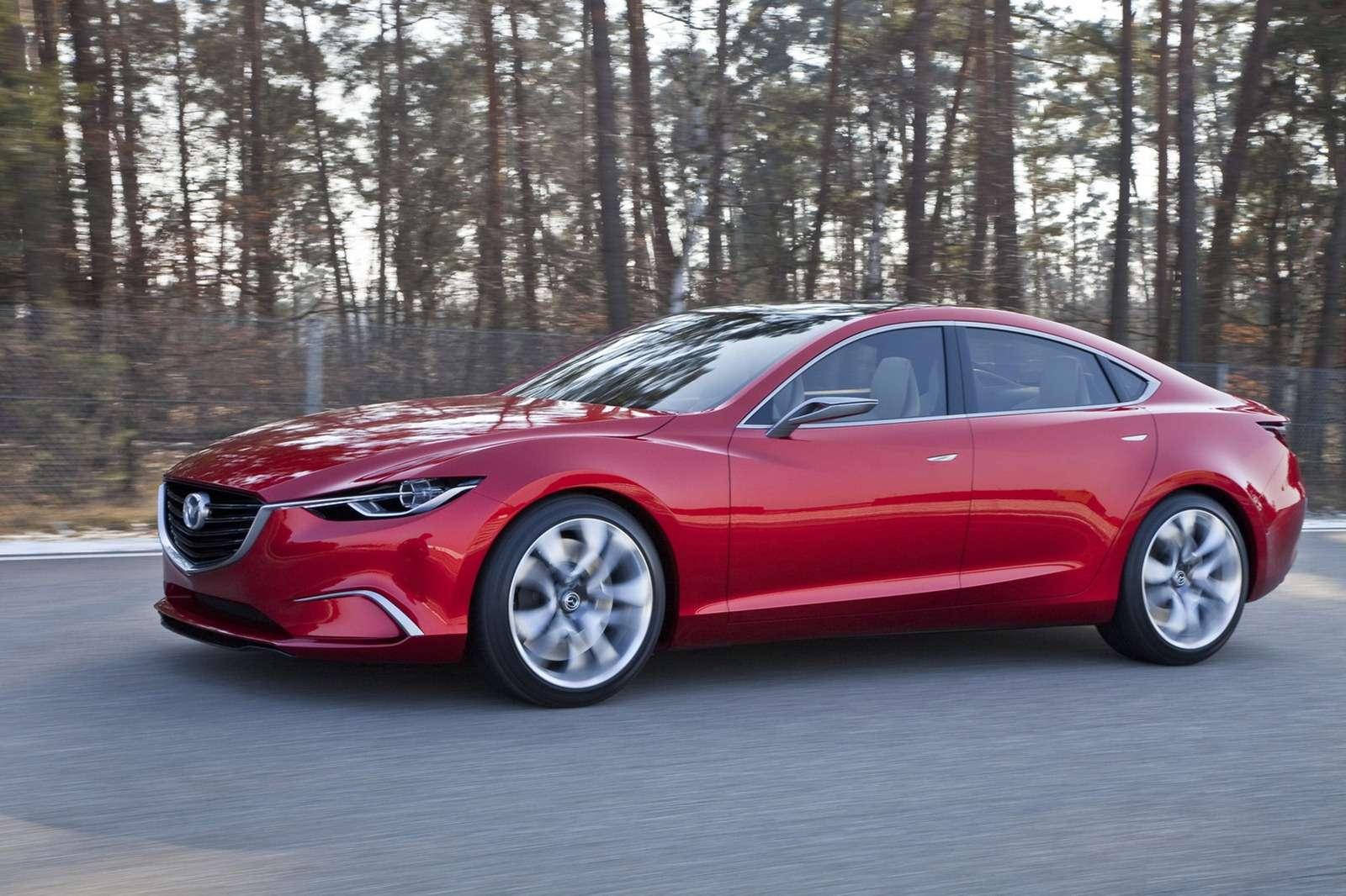 Mazda Takeri Koncept luty 2012