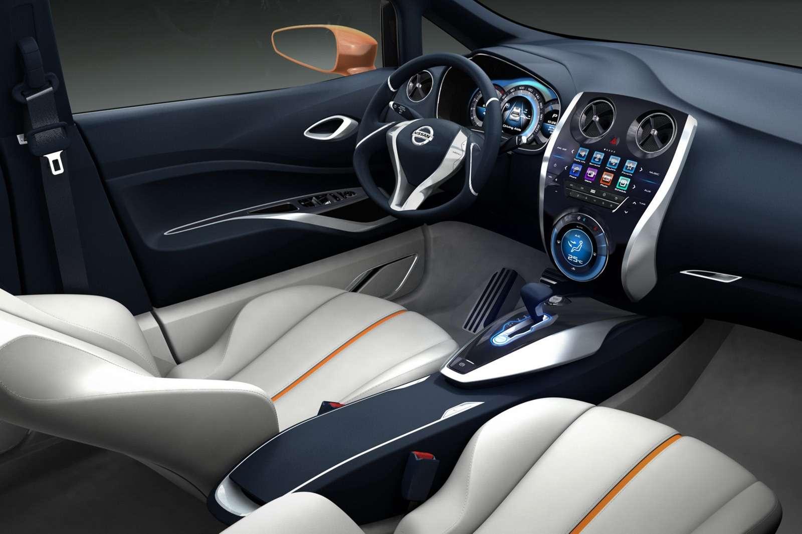 Nissan Invitation fot koncept luty 2012