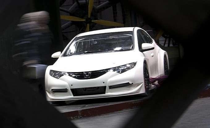 Nowa Honda Civic BTCC Race Car