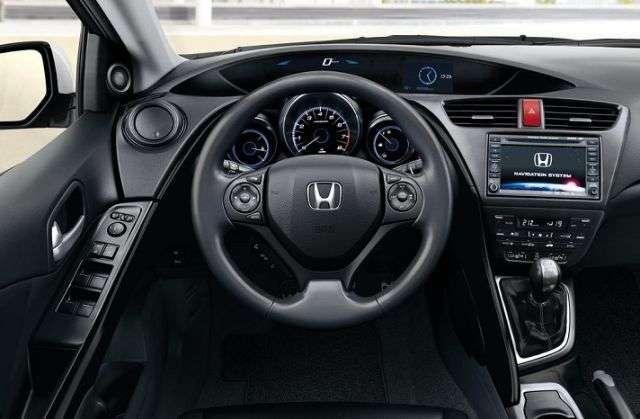 Honda Civic 9 zdjecia luty 2012