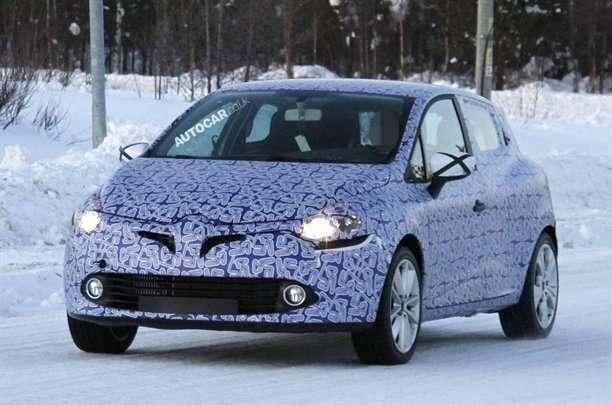 Nowe Renault Clio szpiegowskie