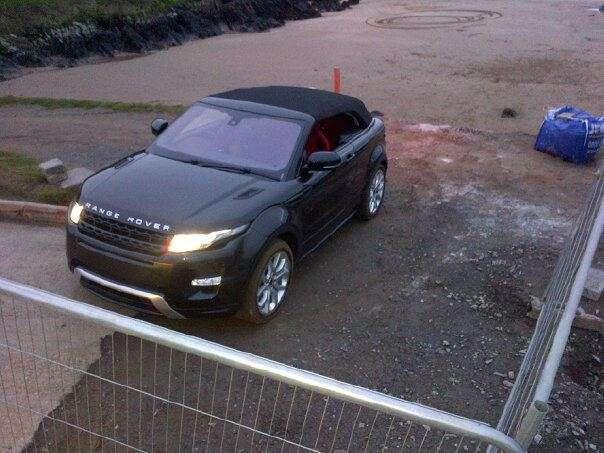 Range Rover Evoque Convertible Cabrio