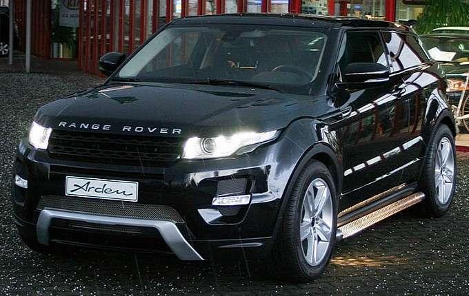Range Rover Evoque od firmy Arden luty 2012