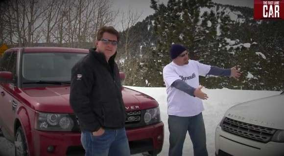 range rover sport vs evoque wideo glo