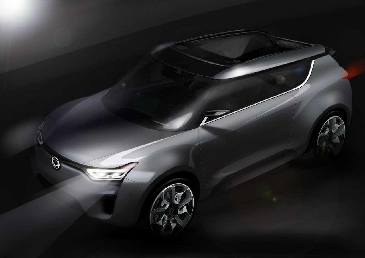Ssangyong XIV-2 CUV-Convertible Concept luty 2012