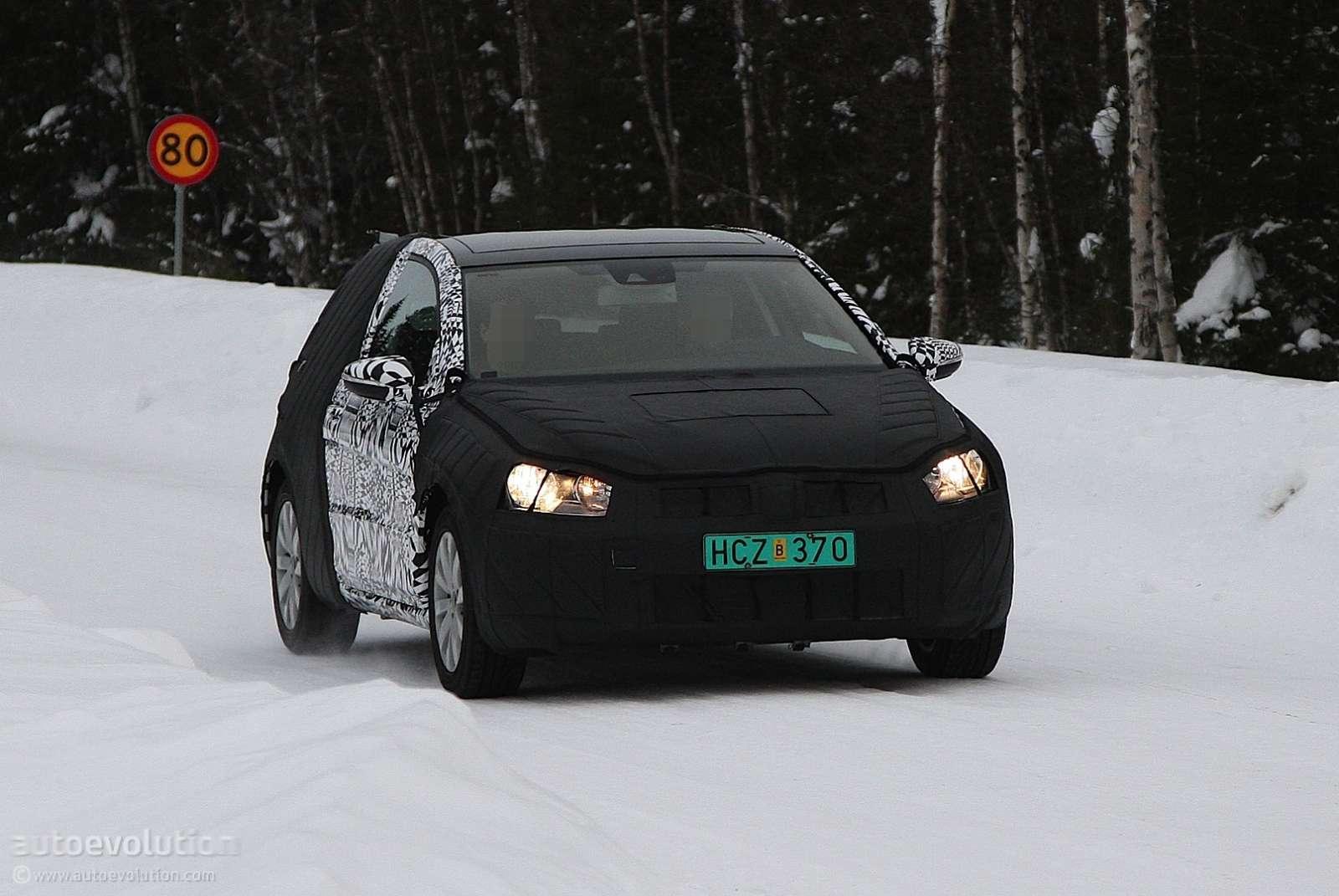 Volkswagen Golf VI 2013 szpiegowskie
