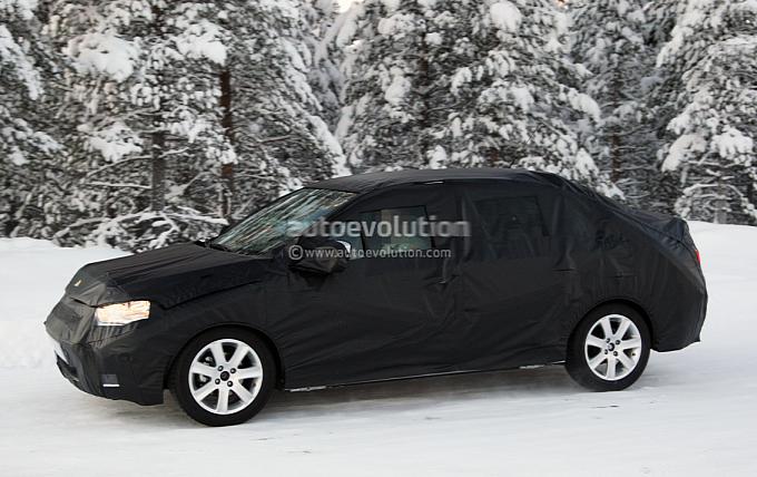 Citroen C4 nowy model fot szpieg luty 2012