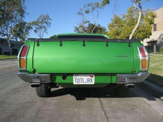 1974 Ford Falcon RHD