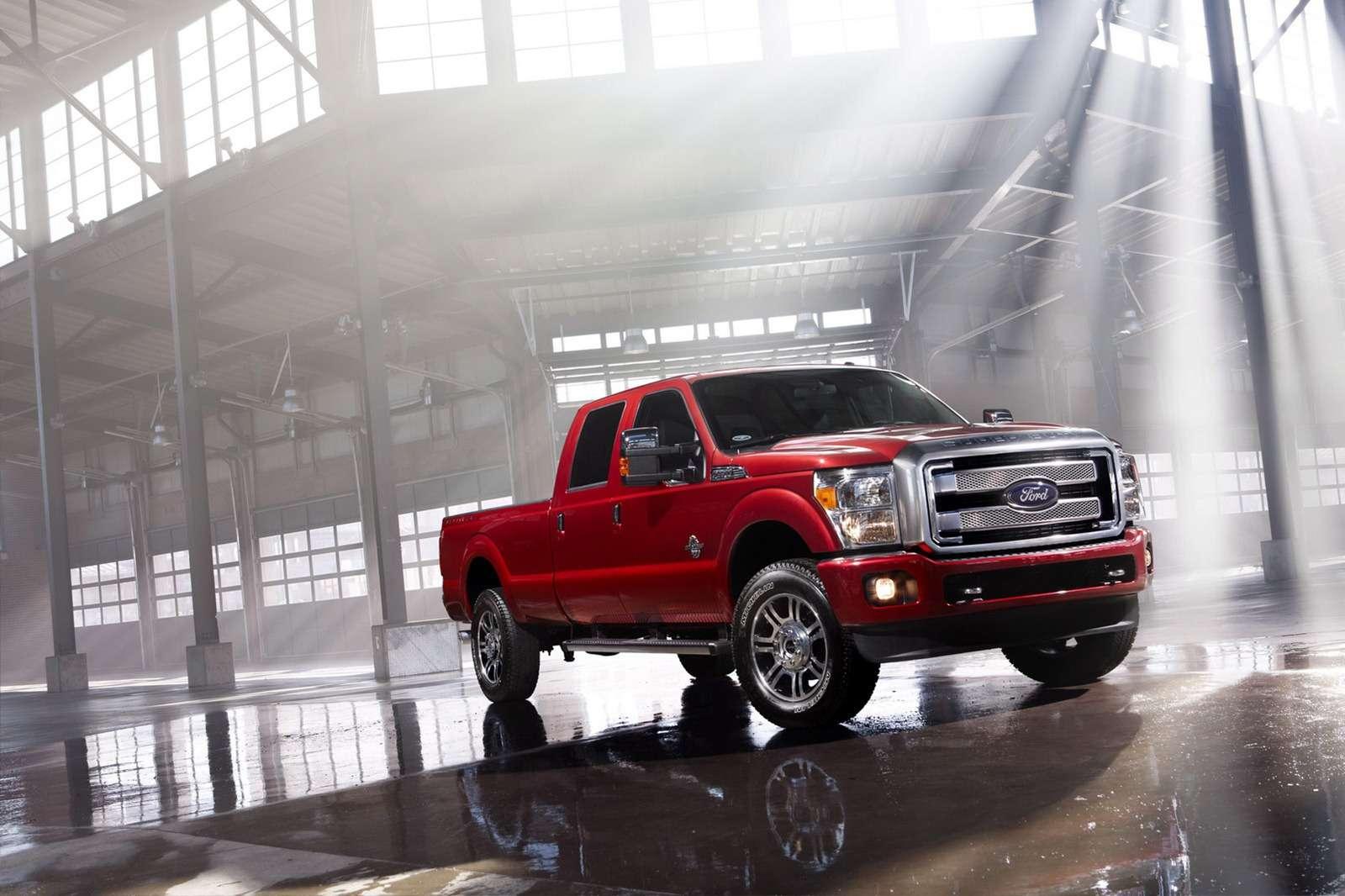 Ford F-Series Super Duty Platinum 2013