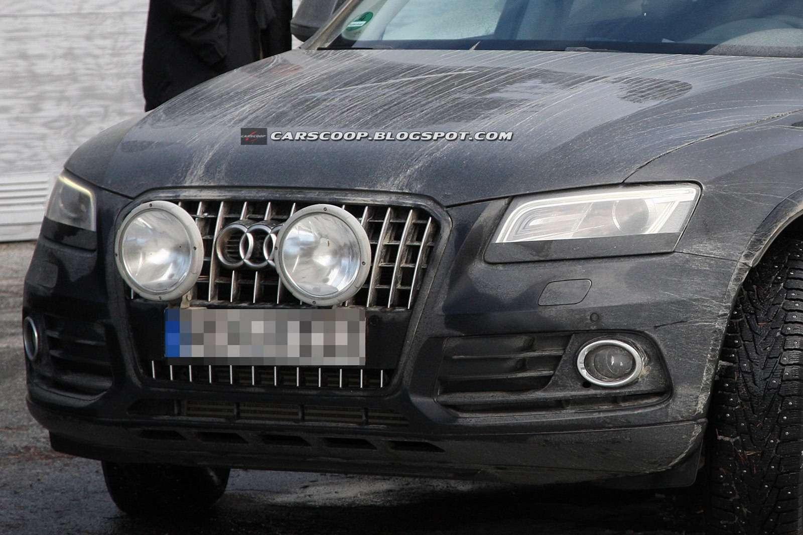 Audi Q5 zdjęcia szpiegowskie