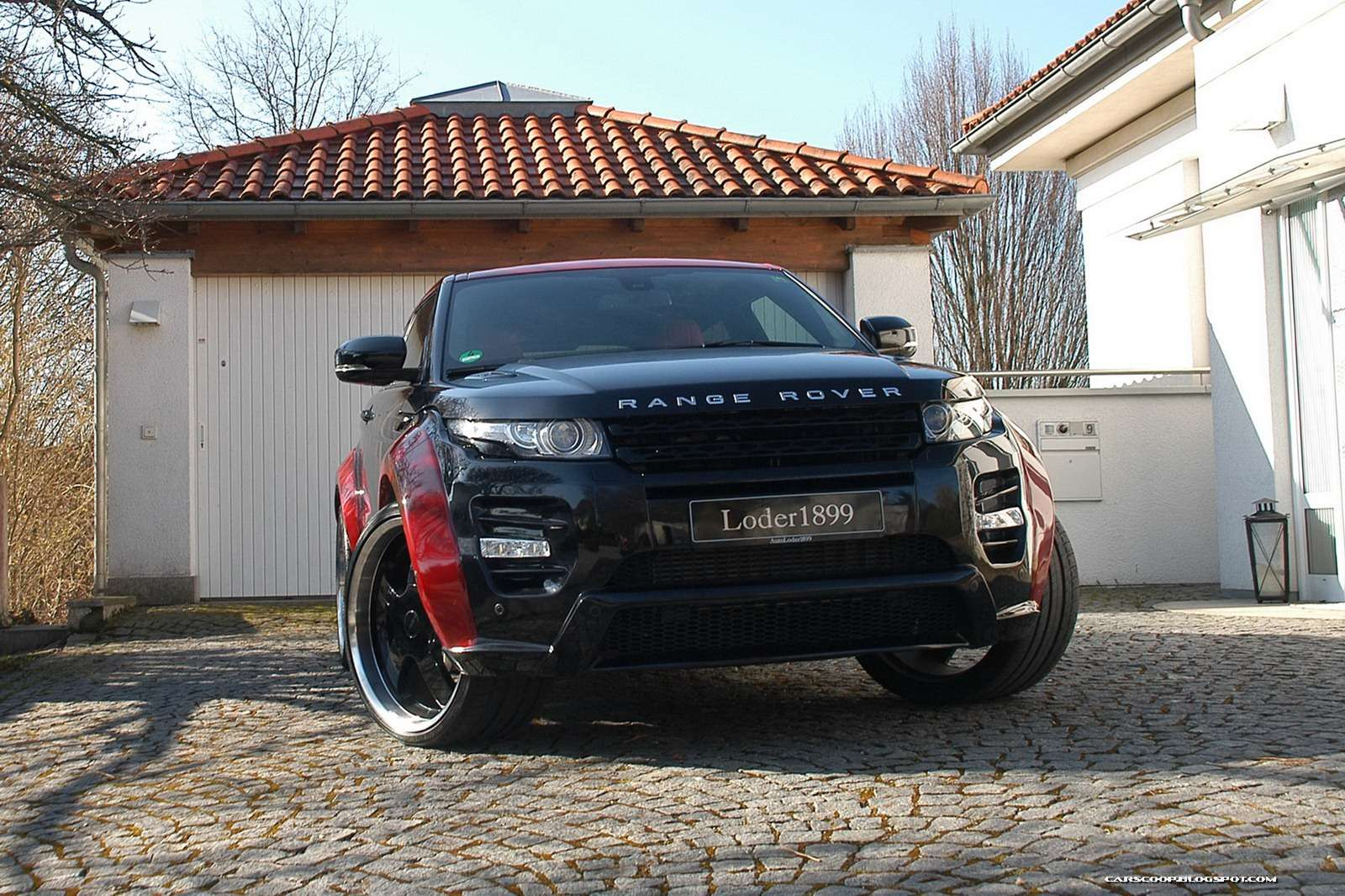 Range Rover Evoque SD4 Horus Loder1899