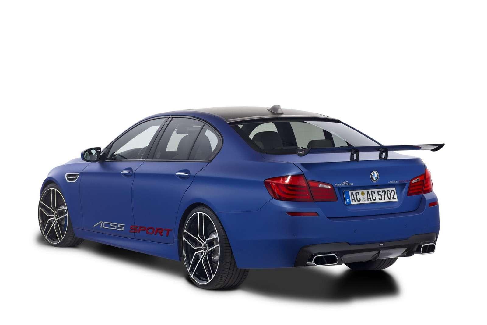 ACS5 Sport Sedan Genewa 2012
