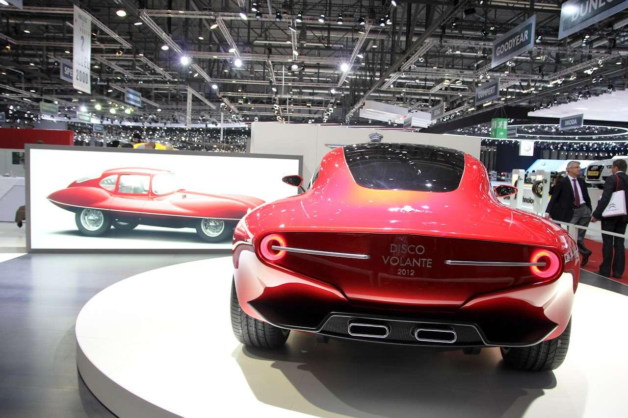 Alfa Romeo Disco Volante Genewa 2012