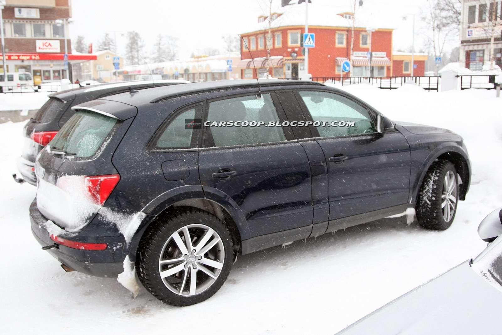 Audi Q6 zdjęcia szpiegowskie