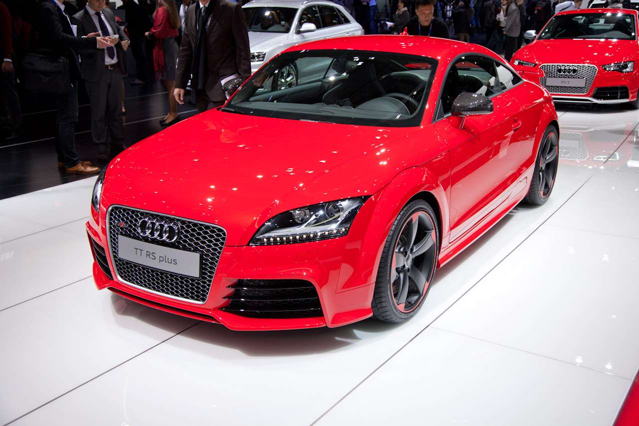 Audi TT RS Plus Genewa