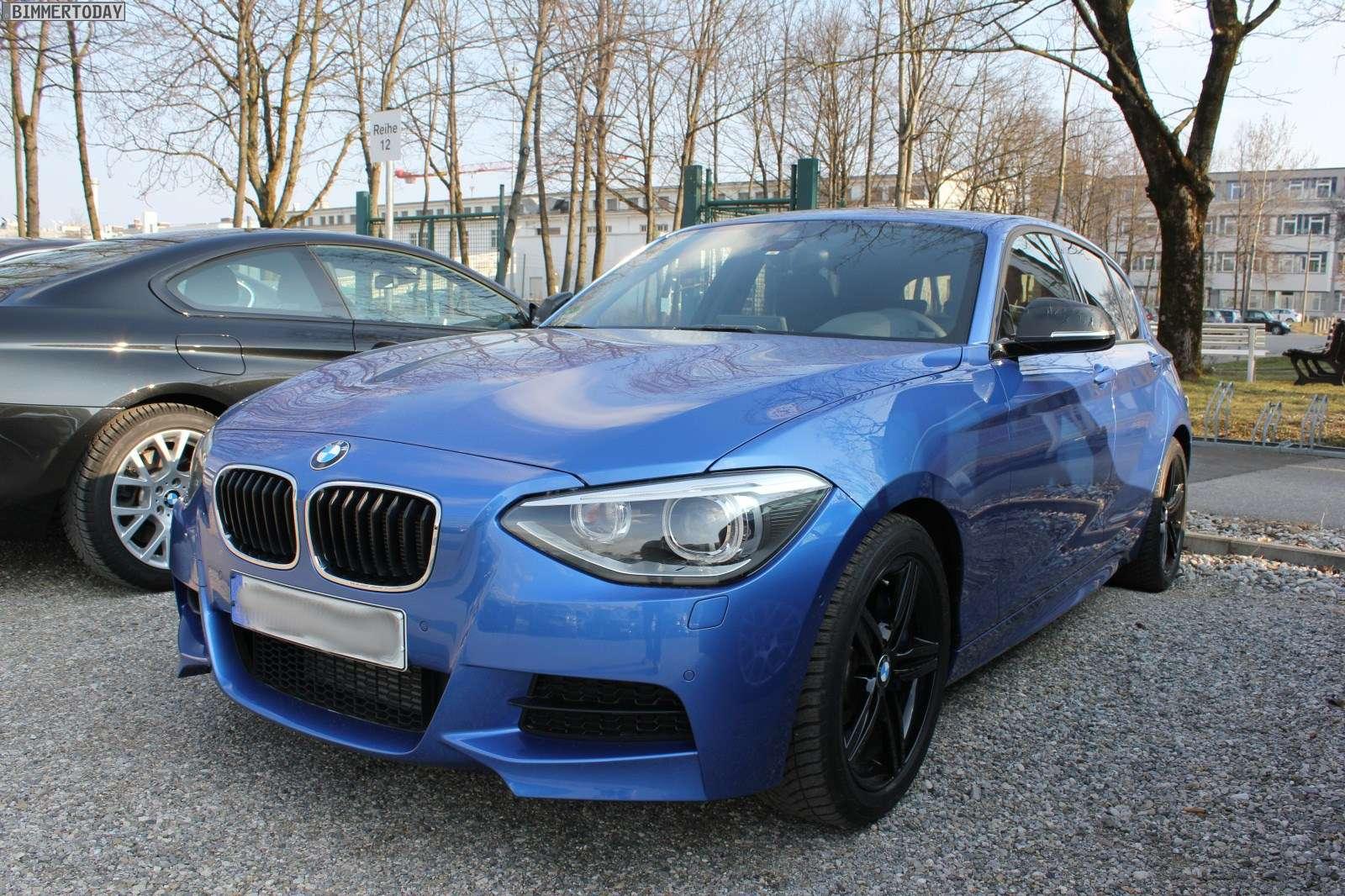 BMW M135i Spy Photo