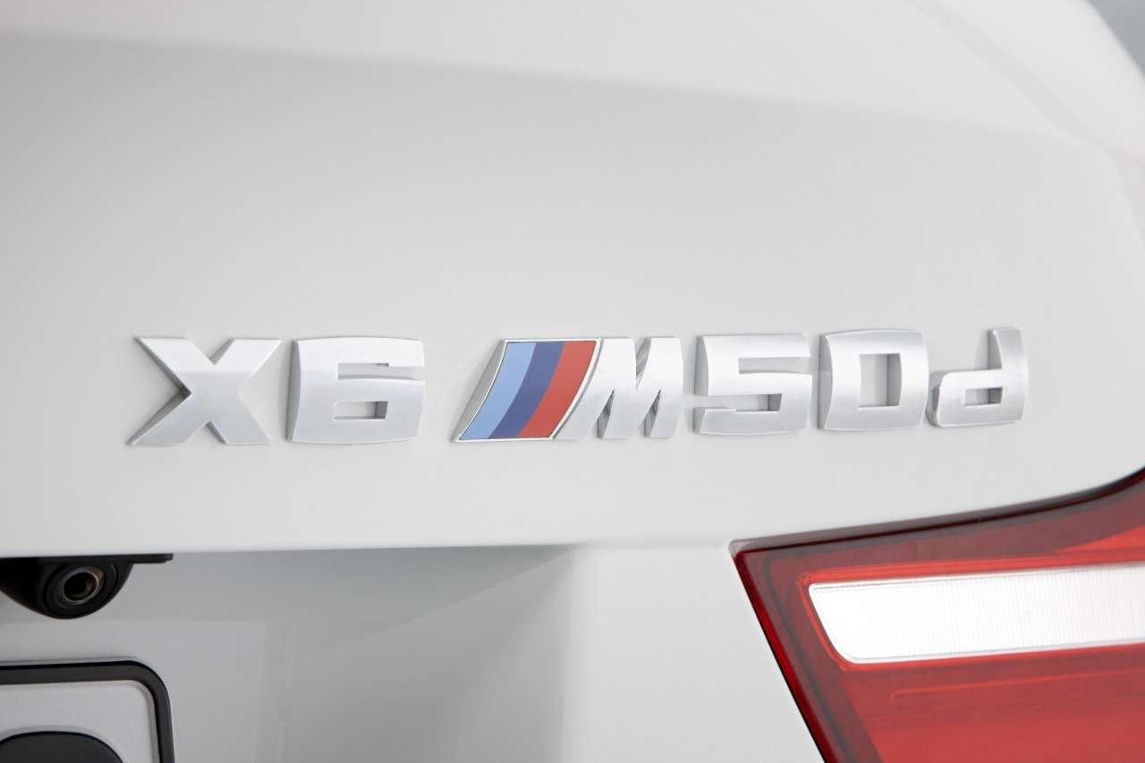 BMW X6 M50d Genewa 2012