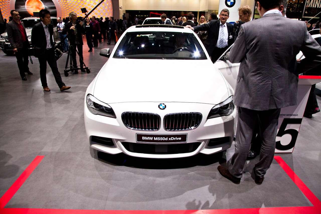 BMW M550d xDrive 2012 Genewa