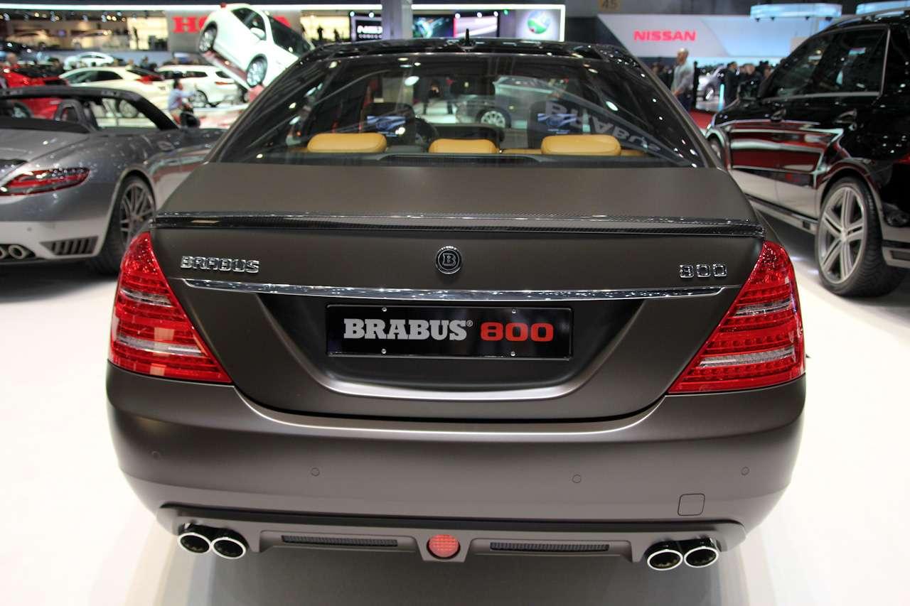 BRABUS 800 V12 Biturbo Genewa 2012