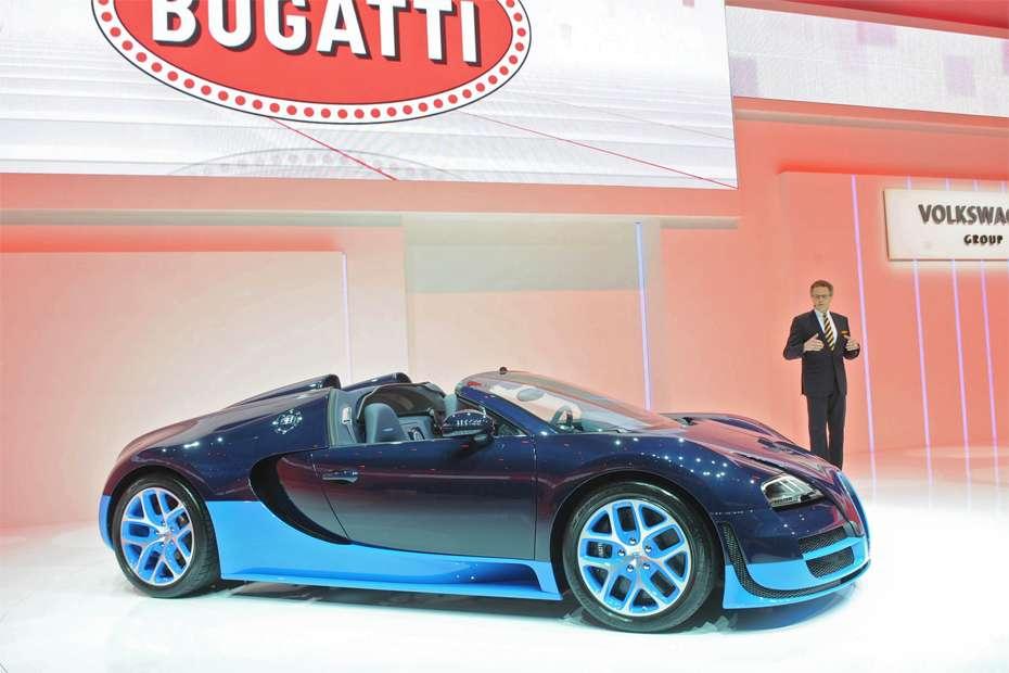 Bugatti Veyron Grand Sport Vitesse Genewa 2012