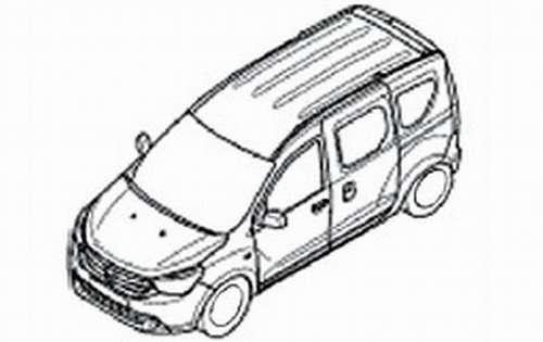 Dacia Dokker szkice