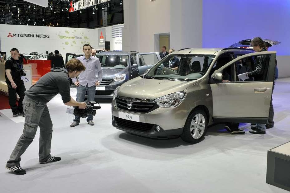 Dacia Lodgy Genewa 2012
