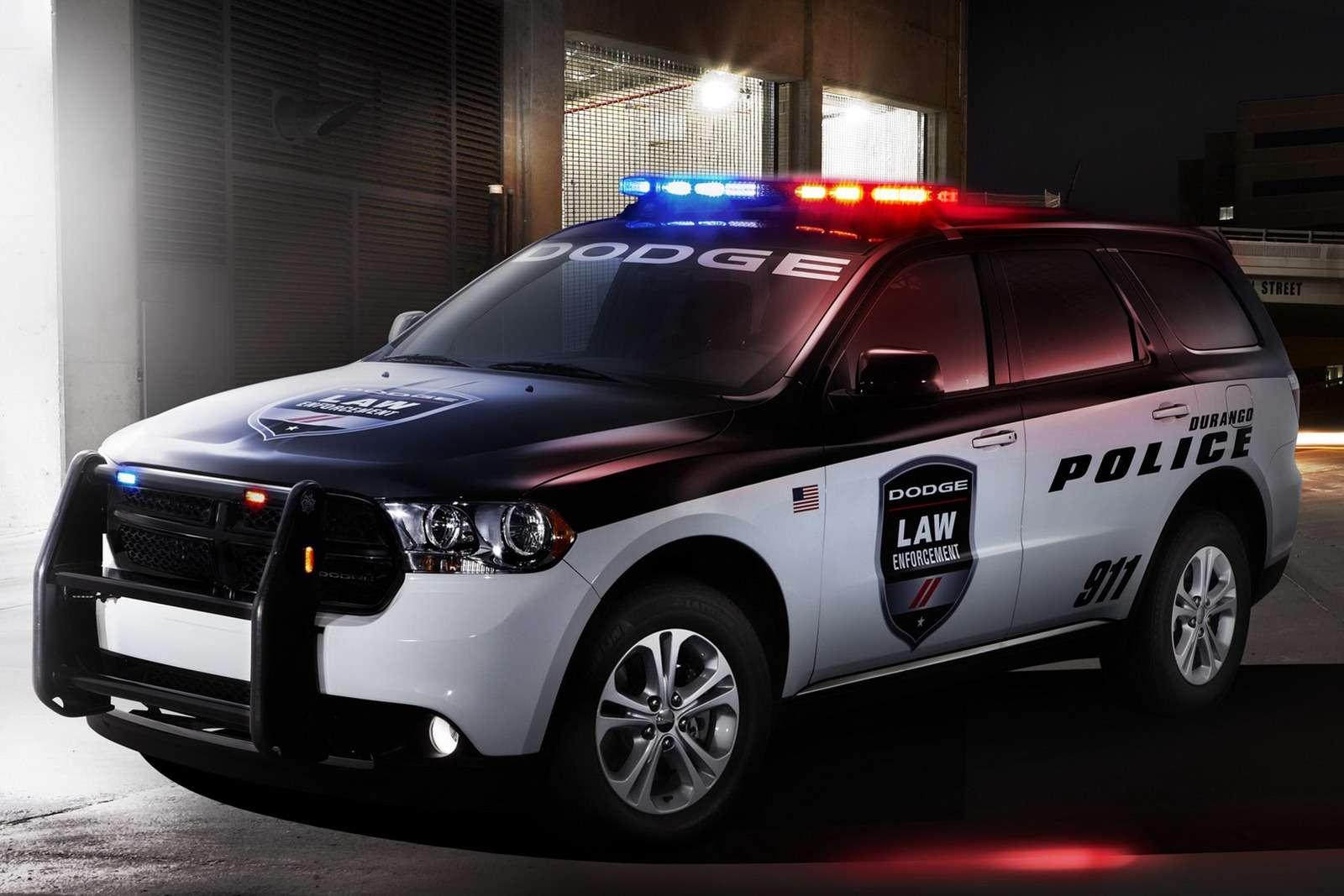 Dodge Durango dla policji i straży pożarnej