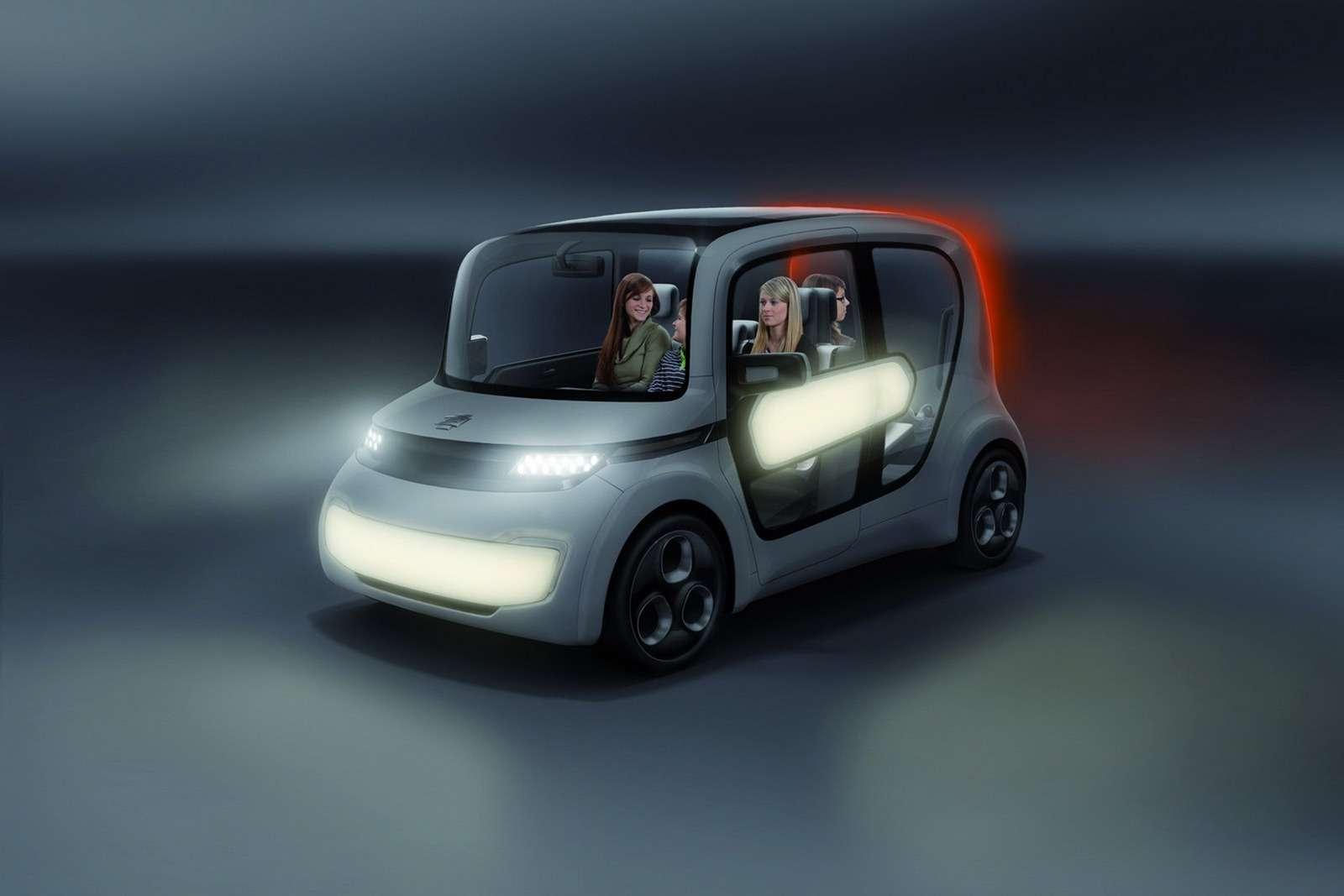 EDAG Light Car Sharing Concept Genewa 2012