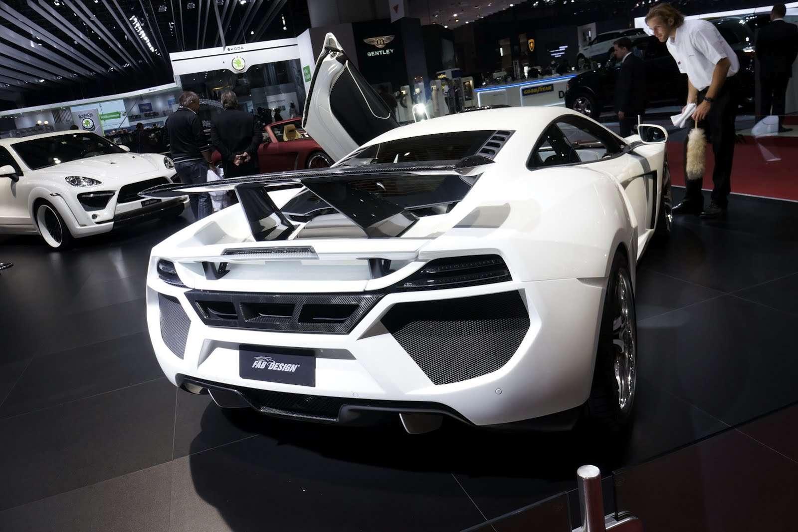 FAB Design McLaren MP4-12C Genewa 2012