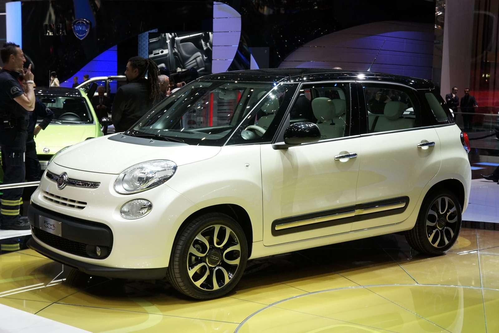Fiat 500L oficjalnie Genewa 2012