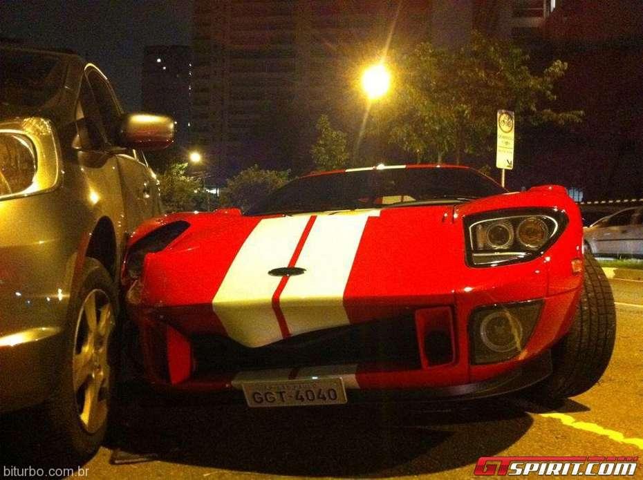 Ford GT wypadek w Brazylii