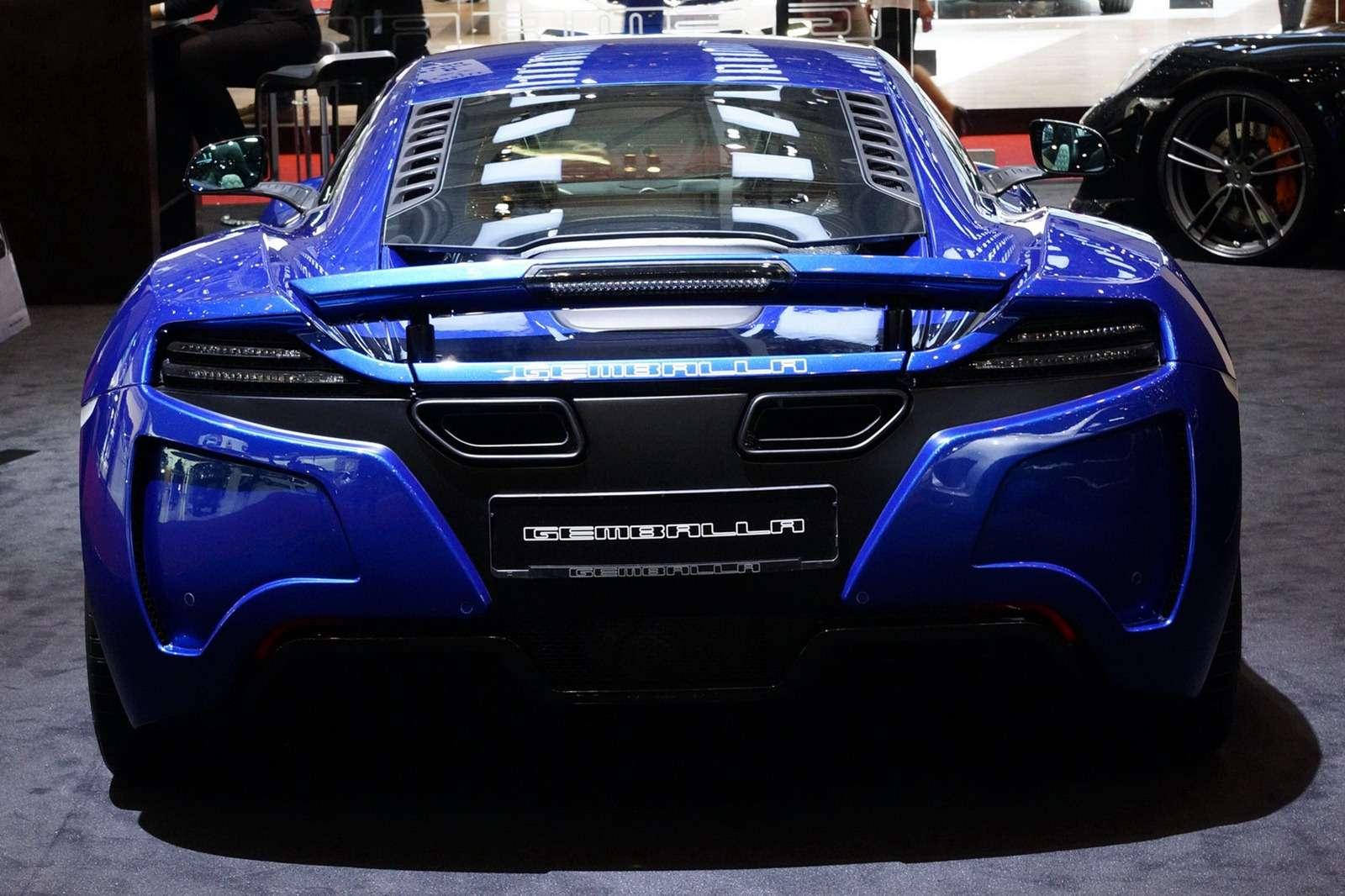Gemballa McLaren MP4-12C Genewa 2012