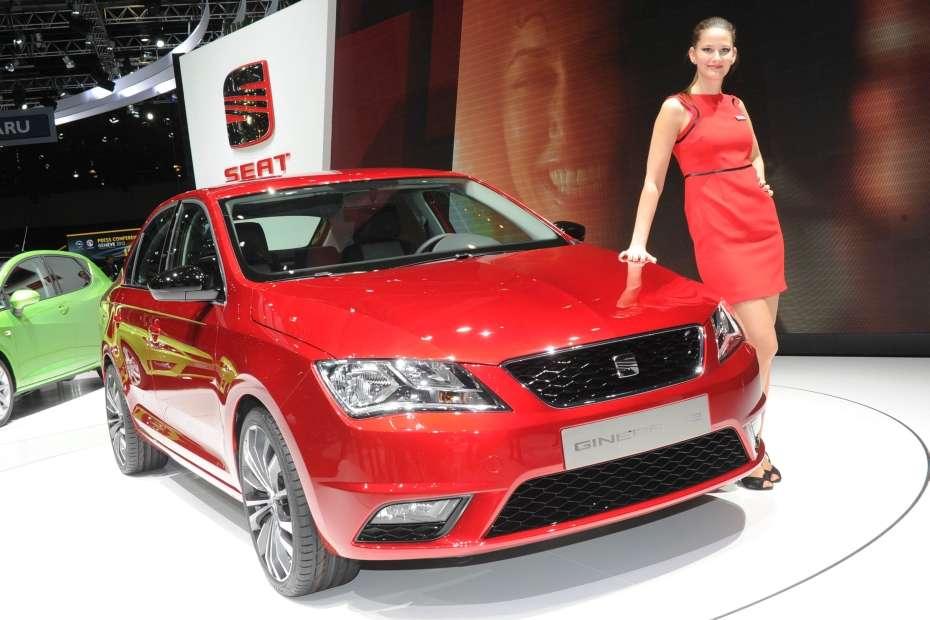 Seat Toledo Concept Genewa 2012