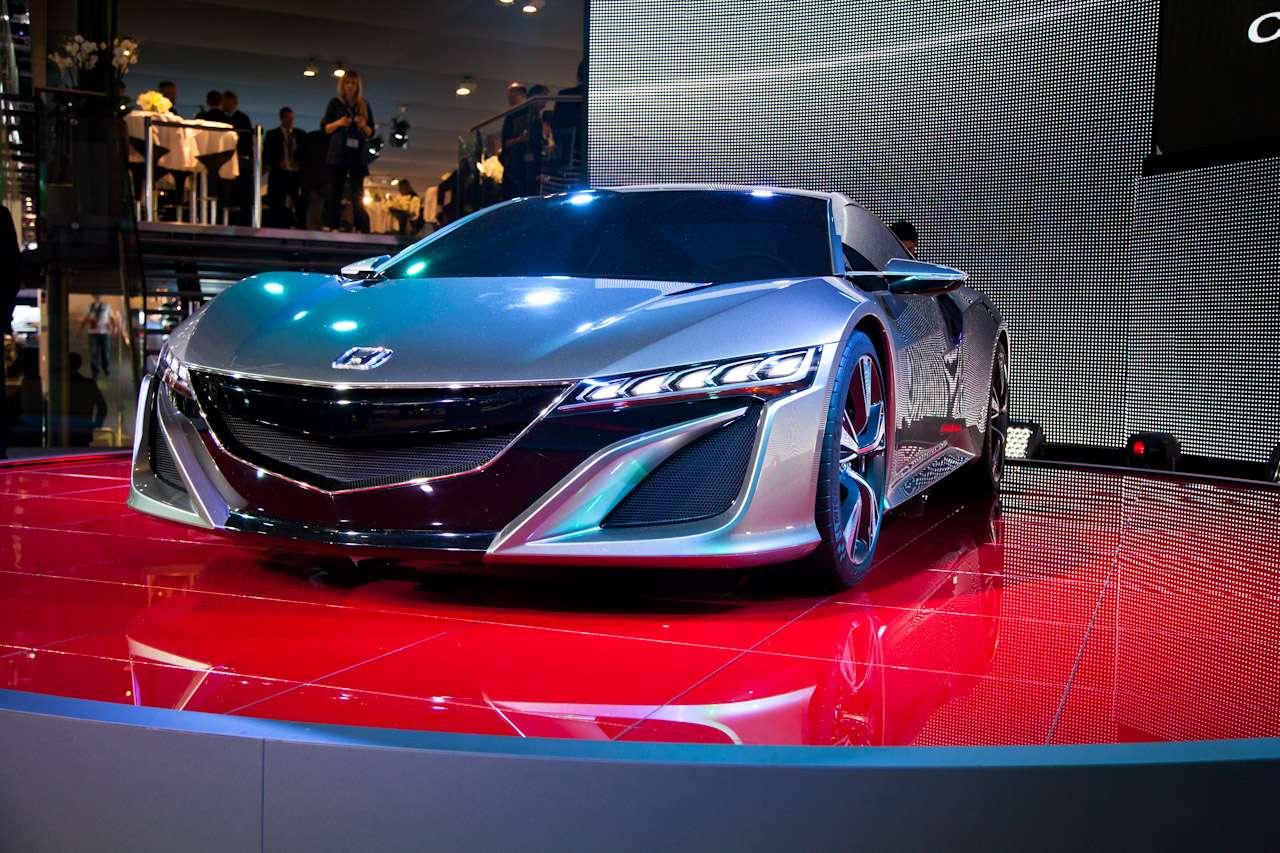 Honda NSX Concept - zastąpić legendę nie będzie łatwo ...