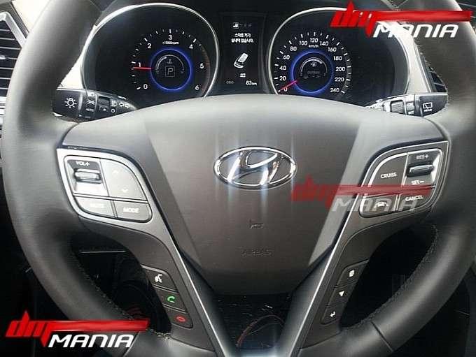 Wnętrze Hyundaia ix45 / SantaFe wyciek zdjęć