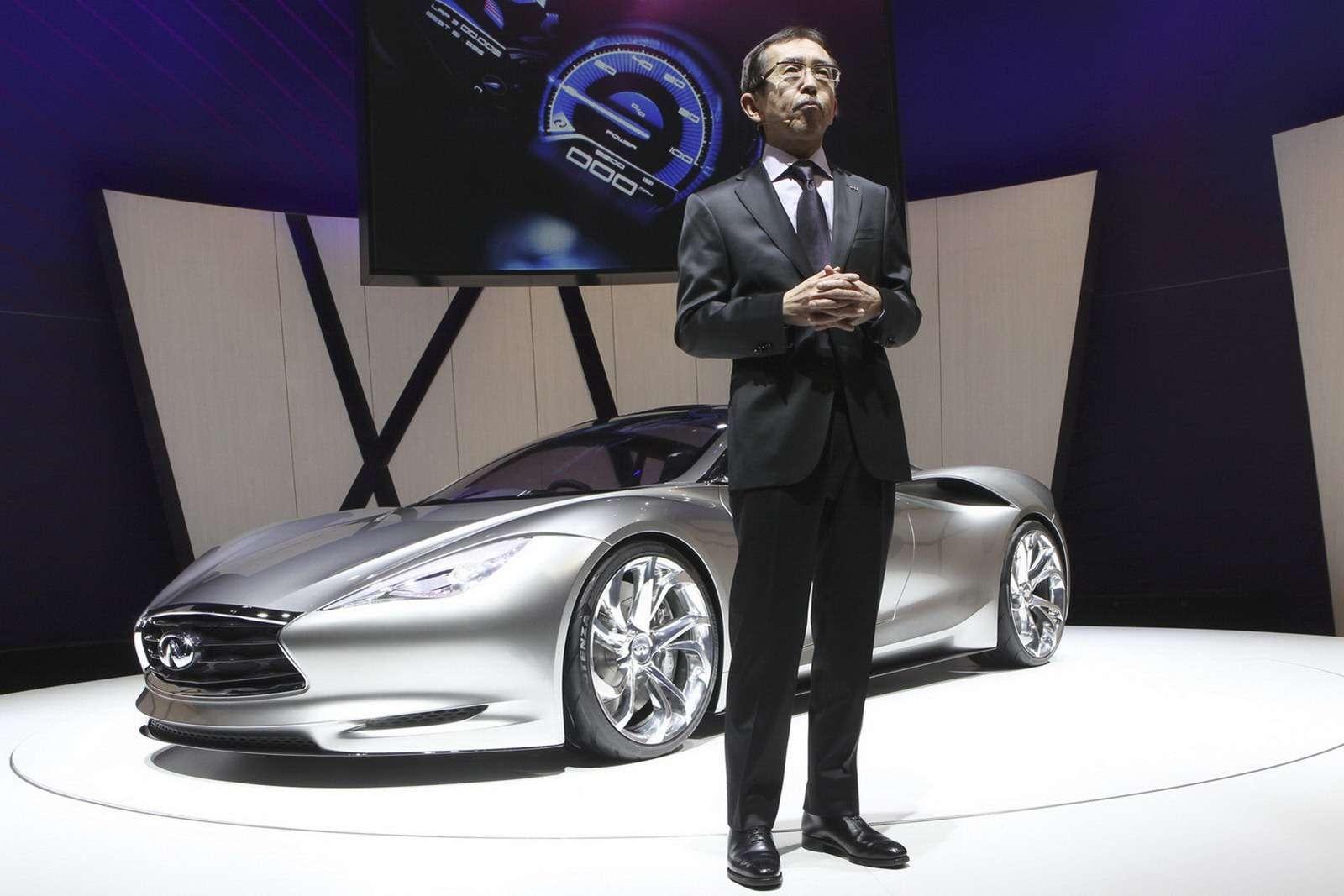 Infiniti Emerg-E oficjalnie Genewa 2012