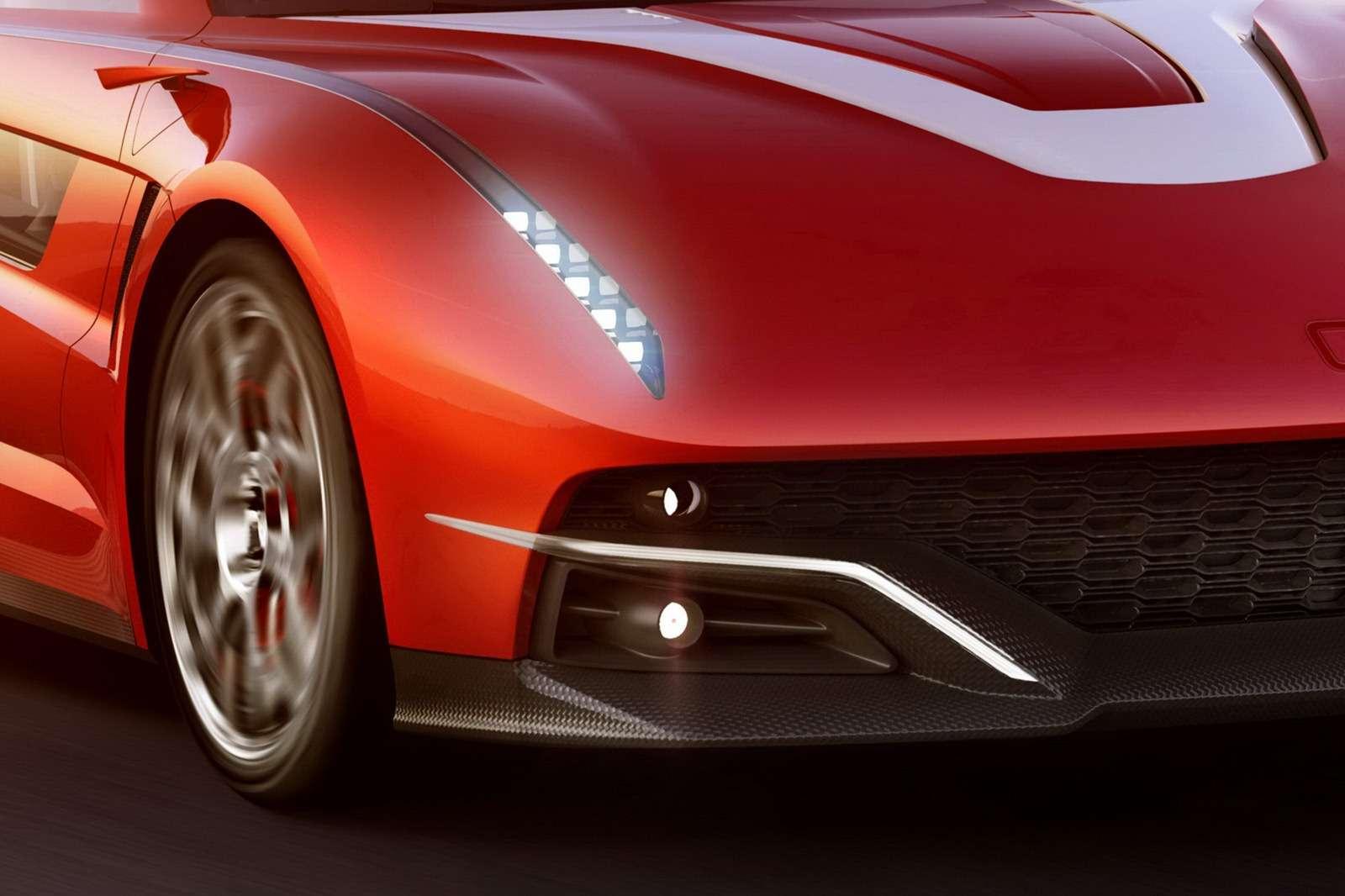 Italdesign Giugiaro Brivido Concept Genewa 2012