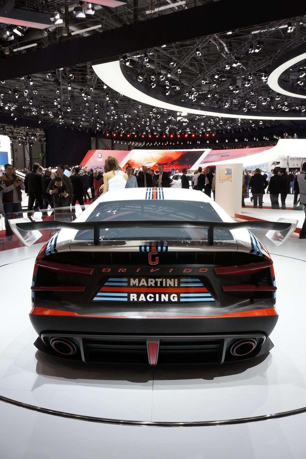 Italdesign Giugiaro Brivido GT Martini Racing Genewa 2012