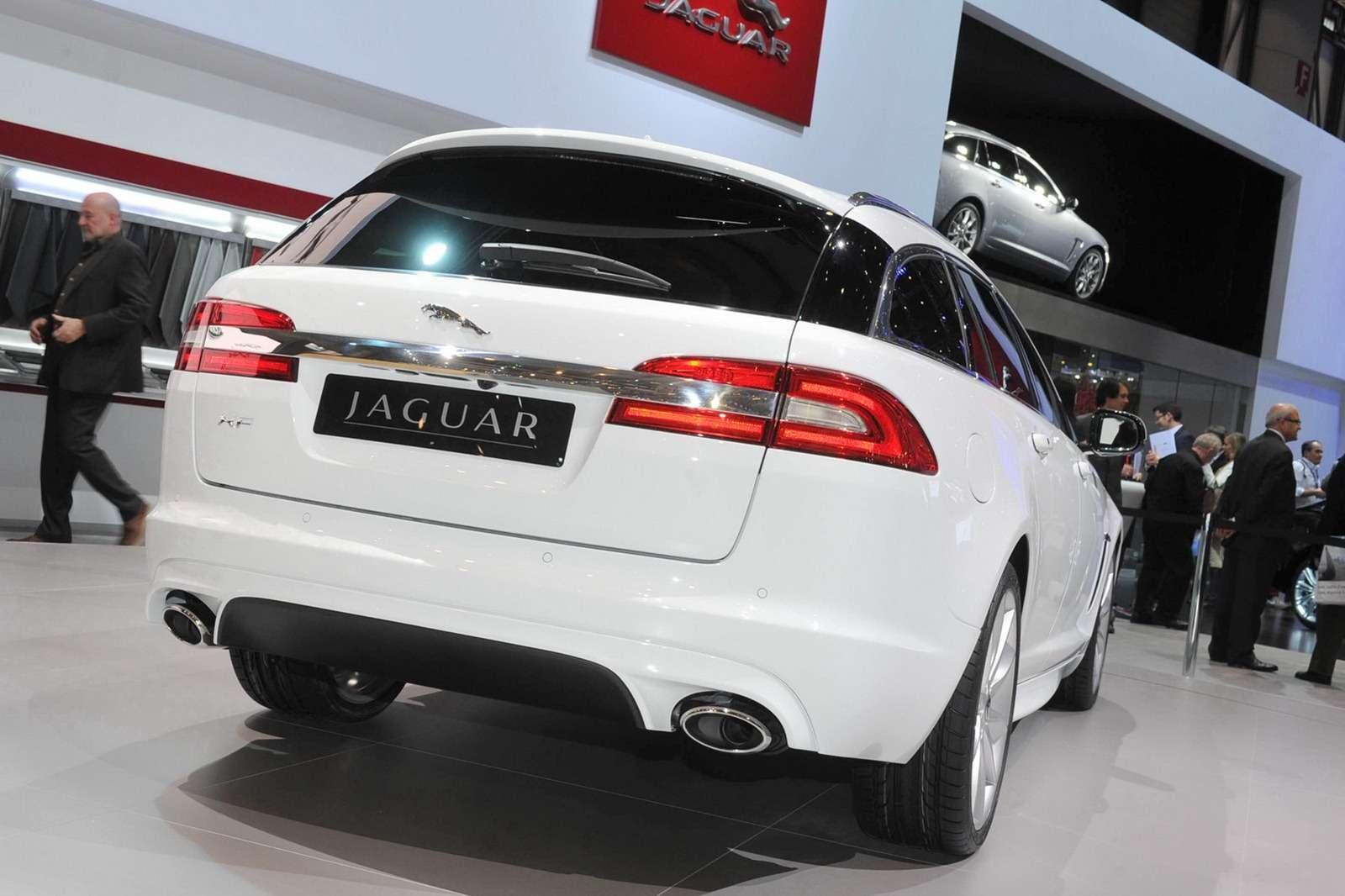 Jaguar XF Sportbrake Genewa
