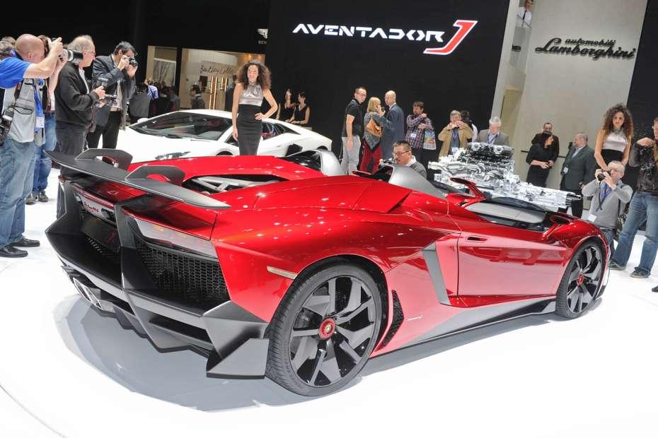 Lamborghini Aventador J Speedster Genewa 2012