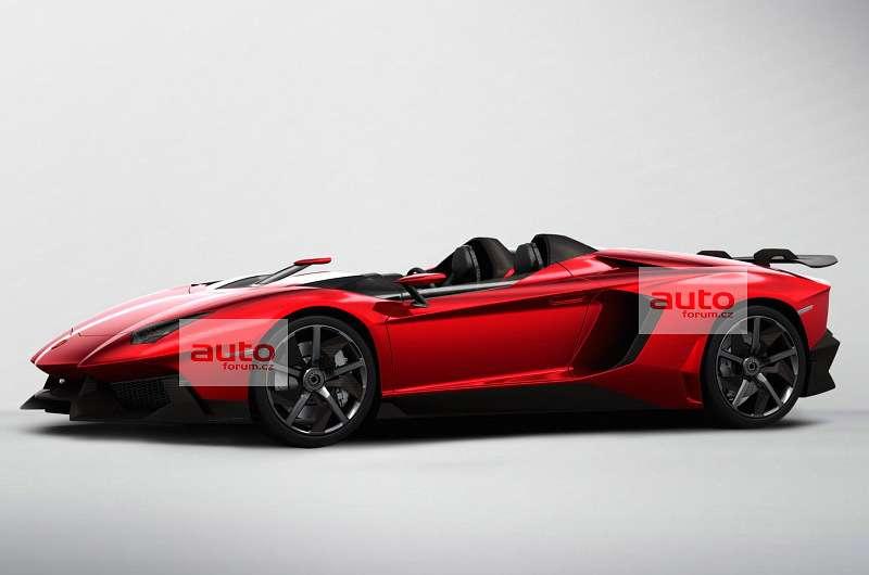 Lamborghini Aventador J wyciek zdjęć