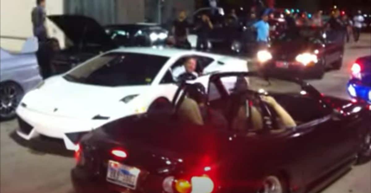 Lamborghini Gallardo Superleggera (2008) i Mazda MX-5 (1998)