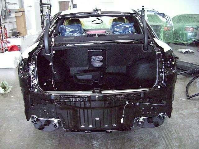 Lexus IS-F zmiana koloru