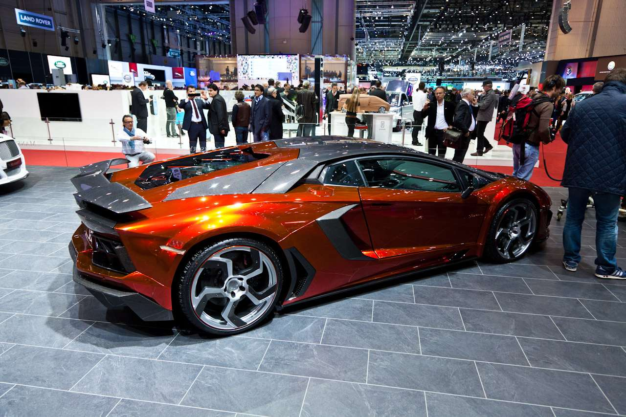 Lamborghini Aventador Mansory Genewa 2012