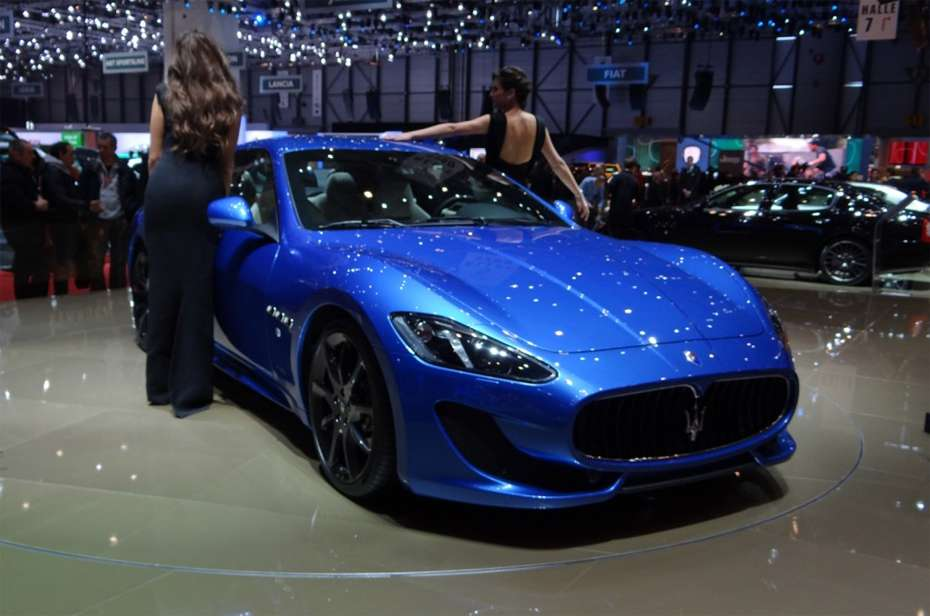Maserati GranTurismo Sport Genewa 2012