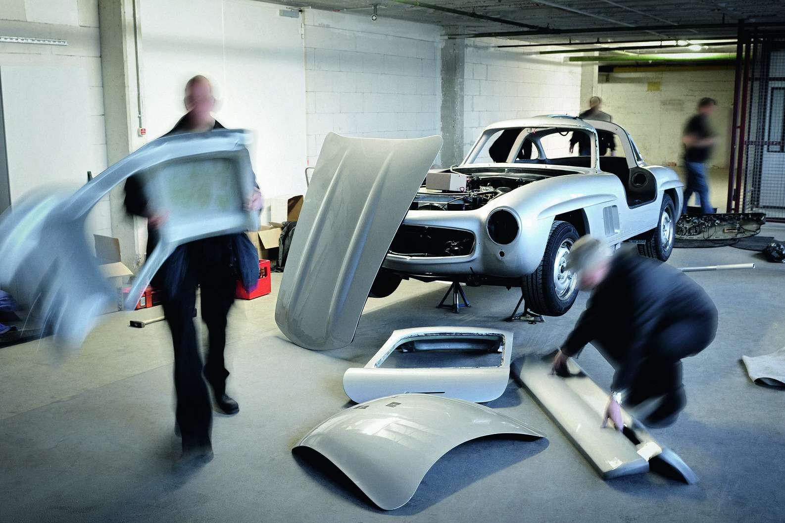 Mercedes walczy z replikami 300SL